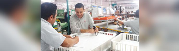 REFA schult Mitarbeiter der Lederindustrie in Mexiko