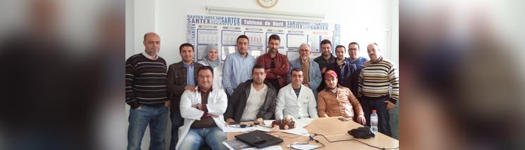 REFA-Praxisseminar bei SARTEX in Tunesien