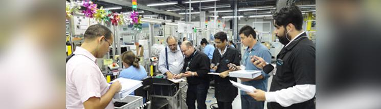 REFA-Coaching bei Siemens in Brasilien