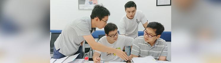 Arbeitsgestaltung und Datenermittlung bei Siemens in Shanghai