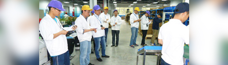 REFA-Schulung bei TDK/EPCOS in Zhuhai, China